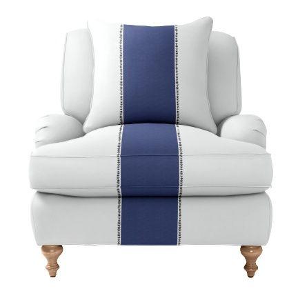Custom Upholstered Miramar Chair In Designer Fabrics Serena Lily Nursery