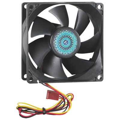 Insignia 80mm Pc Case Cooling Fan Black Only At Best Buy