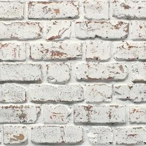 Fine Decor Bricks Paper Strippable Roll Covers 56 4 Sq Ft 2900 42032 The Home Depot White Brick Wallpaper Brick Effect Wallpaper Brick Wallpaper