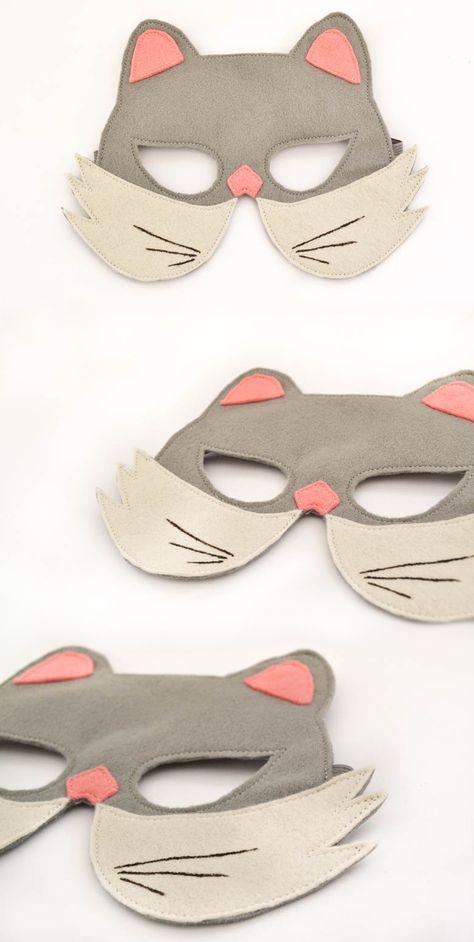 Soft Foam Mask Farm Animal Cat for Fancy Dress Masquerade Accessory