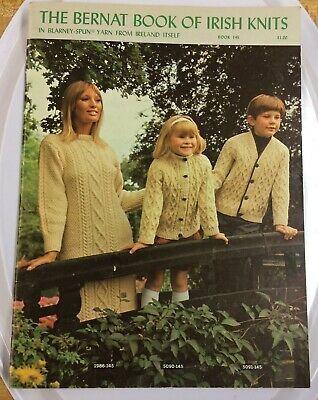 Vintage Crochet Pattern To Make Irish Filet Bedspread Motif Block American Way 7 99 Irish Knitting Irish Knitting Patterns Irish Sweater