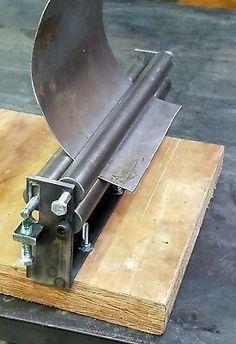 12 X 10 Gauge Sheet Metal Roller Slip Roll Rolling Metalworking Brass Steel En 2020 Roladora De Lamina Caldereria Metalisteria