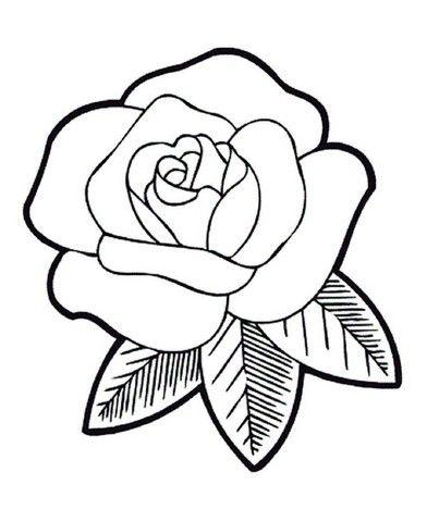 Gambar Bunga Kartun Hitam Putih Mewarnai Bunga Matahari Flower Sketches Flower Drawing Cartoon Flowers