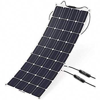 Amazon Com Windynation 100w 100 Watt 12v Bendable Flexible Thin Lightweight Solar Panel Battery Charger W Power Sun In 2020 Solar Panels Solar Panel Charger Rv Solar