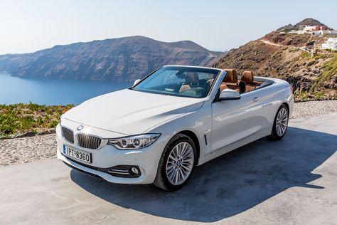 Wedding Cars Santorini Convertible BMW D Cabrio For Wedding - Cool cars santorini
