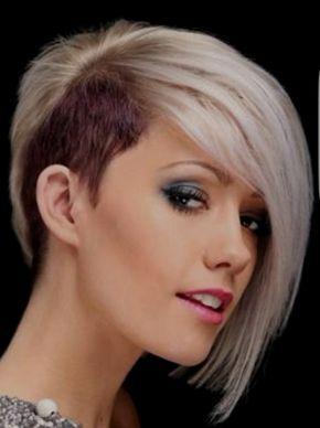 Sidecut Frisuren Frauen Chin Length Hair Messy Bob Hairstyles Undercut Hairstyles