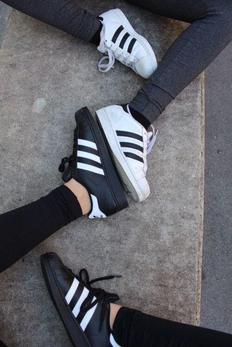 adidas, shoes, and black kép