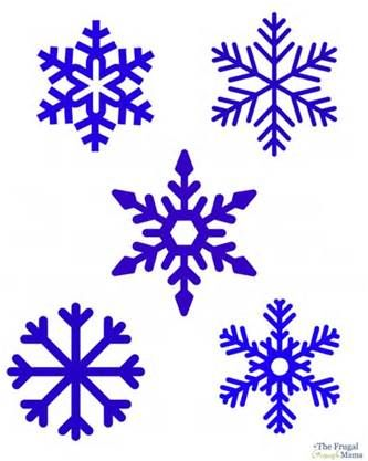 Snowflake Outline Printable Snowflake printable projects Pinterest