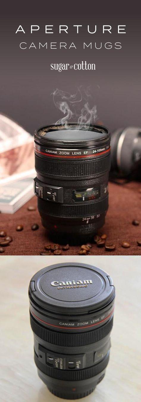 Aperture™ Camera Lens Mugs
