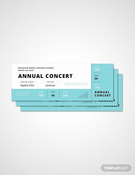 Concert Ticket Template Free Beautiful Free Ticket Templates Download Ready Made Concert Ticket Template Ticket Template Ticket Template Free