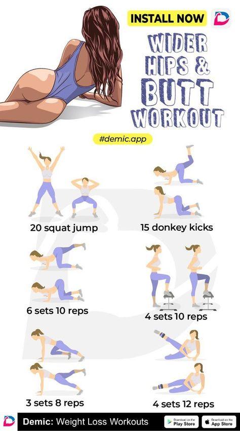 Wider Hips & Butt Workout