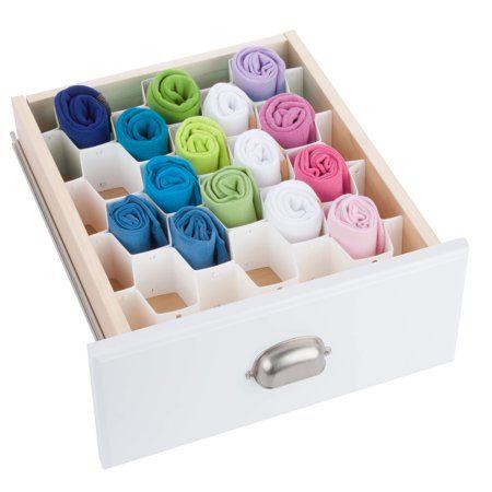 Mainstays 32 Compartment Drawer Organizer Image 4 Of 4 Dresser