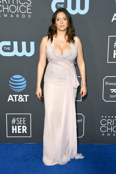 Rachel Bloom attends the 24th annual Critics' Choice Awards at Barker Hangar.