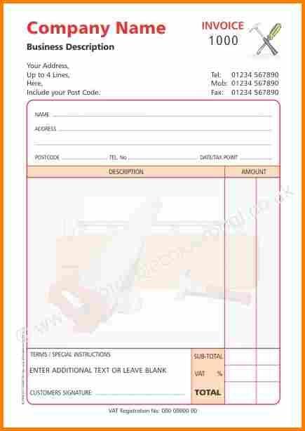 Handyman Invoice Template  Invoice Term  Ben