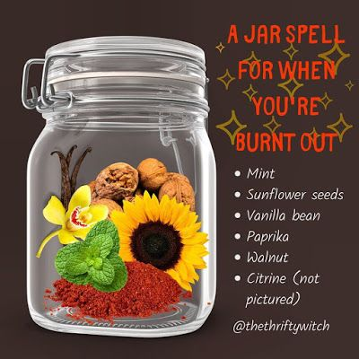 Witchcraft Herbs, Witchcraft Spells For Beginners, Witchcraft Spell Books, Witch Spell Book, Healing Spells, Jar Spells, Magick Spells, Wicca Recipes, Potions Recipes