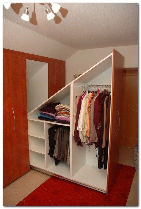 Simple Loft Conversion Ideas For Dormer Conversion Dormer Ideas Loft Simple Dachschragenschrank Dachboden Renovierung Einbaumobel