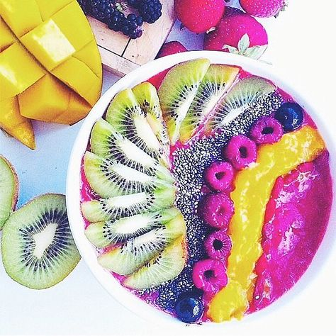 The New Breakfast Trend You Need to Try Immediately: Fun to say and even more fun to eat: the pitaya bowl.