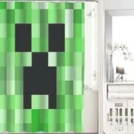 Minecraft Shower Curtain At Personalized Shower Curtain Shower