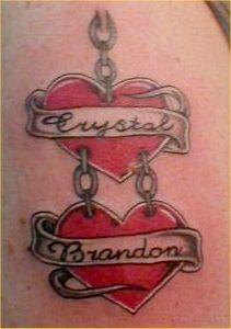 2 Hearts Tattoo : hearts, tattoo, Hearts, Tattoo, Ideas, Heart, Tattoo,, Tattoos,