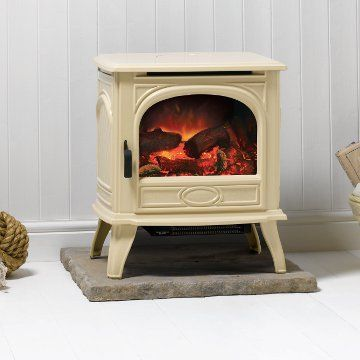 Dovre 280 Cast Iron Electric Stove Matt