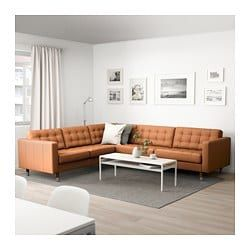 Ikea Us Furniture And Home Furnishings Brown Living Room Decor Ikea Landskrona Brown Sofa Living Room