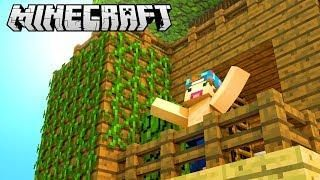 My Own Gorgeous Tree House Minecraft Build Battle Com Imagens