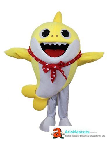 Baby Shark Mascot Costume Cartoon Mascot Costumes Cartoon Character Costume Baby Shark