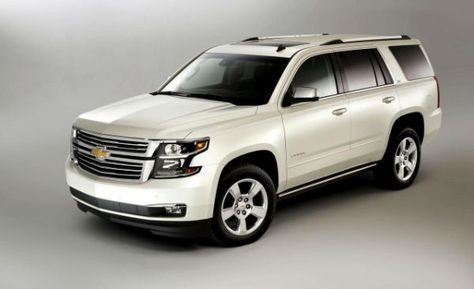 2016 Chevrolet Tahoe White ... Come December it's this or the GMC!!  <3
