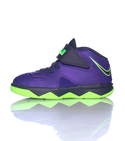 quality design 918e4 fe36c NIKE Lebron James logo on heel Low top toddler sneaker Self ...