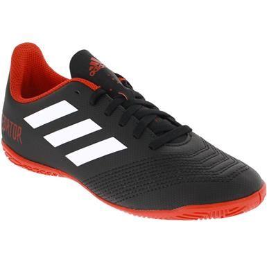 Adidas Predator Tango In Indoor Soccer Boys Girls Black White Red Adidas Predator Indoor Soccer Soccer Shoes
