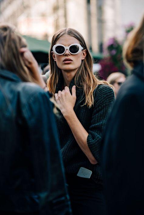 Josephine Skriver für Illesteva: Diese Sonnenbrille tragen