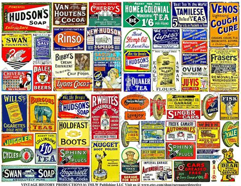 Hudson/'s Soap metal advertising wall sign 300x400 mm
