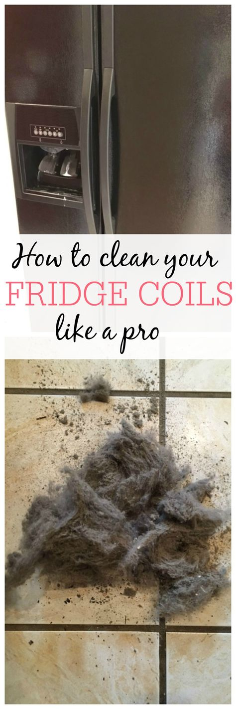 Cleaning the fridge coils not only helps keep your house cleaner but also saves you money! See how to clean your fridge coils like a pro. You will save money on your electric bill and help prolong the life of your refrigerator.