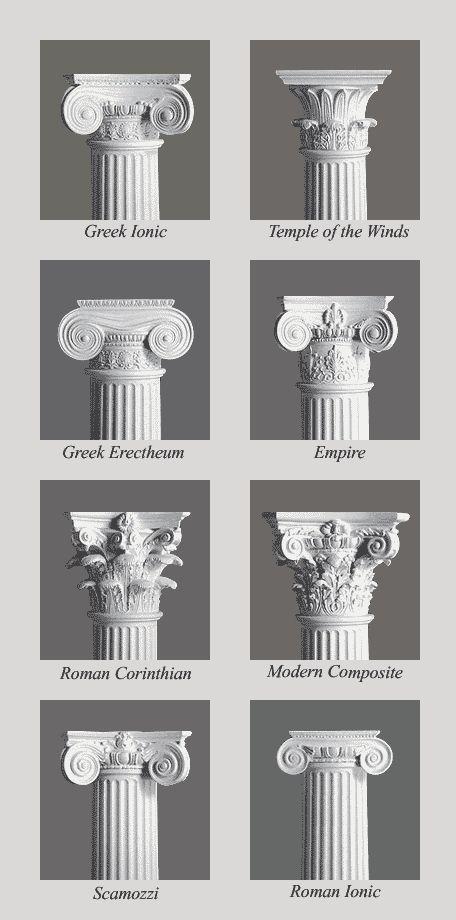 We have a pillar similar to Modern Composite Column Capitals ...