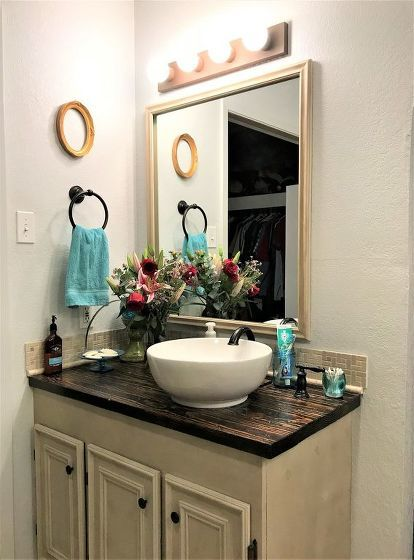 15 Bathroom Budget Transformations For Under 200 Diy Bathroom
