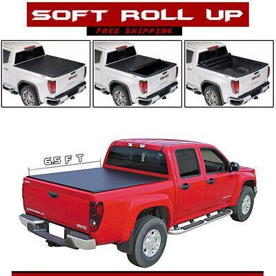 Fits 07-18 Chevy Silverado GMC Sierra 5.8/' Truck Bed Soft Tri-Fold Tonneau Cover