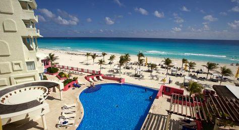$1.537 El NYX Hotel Cancun, con una piscina infinita con vistas al mar…