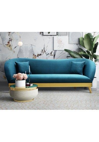 Grey Velvet Sofa Brushed Gold Base Legs Sofa Velvet Sofa Grey Velvet Sofa