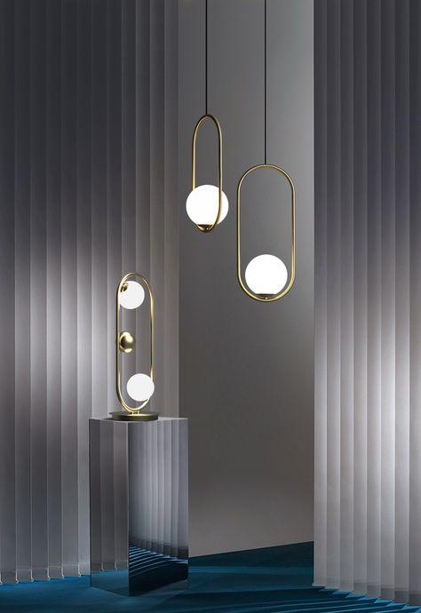 Modern 1 Light Gold Circle Ring Globe Hanging Mila Pendant Light,Pendant Lights