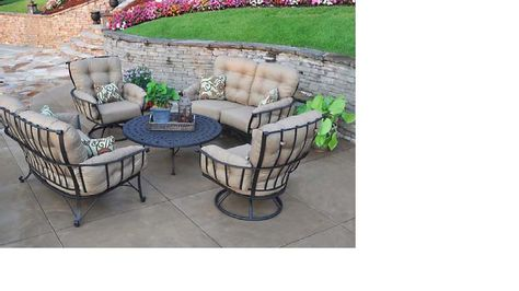 Handicap Patio Furniture Deep Seating Wrought Iron Marina Pool Spa