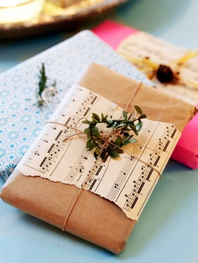 Super Ideas For Craft Paper Wrapping Christmas Sheet Music