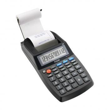Calculadora Compacta Com Bobina 12 Digitos Ma 5111 Elgin Magazine Raimundogarcia Calculadora Bobina Celulares E Acessorios