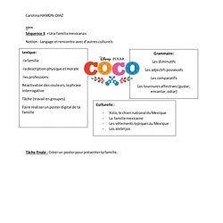 Secuencia Coco 5eme 6 11 Pearltrees Spanish Classroom Spanish Resources Coco