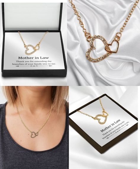 Mother In Law Necklace Gift