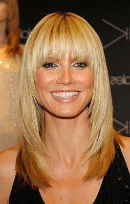 Best Of Anti Aging Frisuren Heidi Klum Hair Long Hair Styles Oval Face Hairstyles
