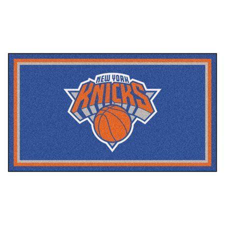 New York Knicks Logo Basketball In 2020 Nba New York New York Knicks Plush Area Rugs