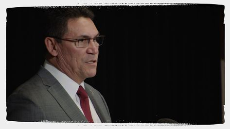 Behind The Scenes Of Ron Rivera's Press Conference - National Football League News Take a closer look at new head coach Ron Rivera's January 2nd press conference.' Source : www.redskins.com