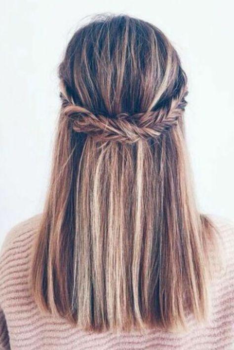 28++ Coiffure noel cheveux mi long facile inspiration