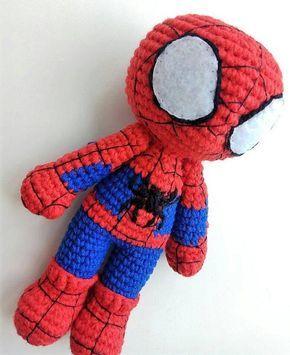 FromMe - O amigurumi do Homem-Aranha foi criado para ser... | Facebook | 355x290