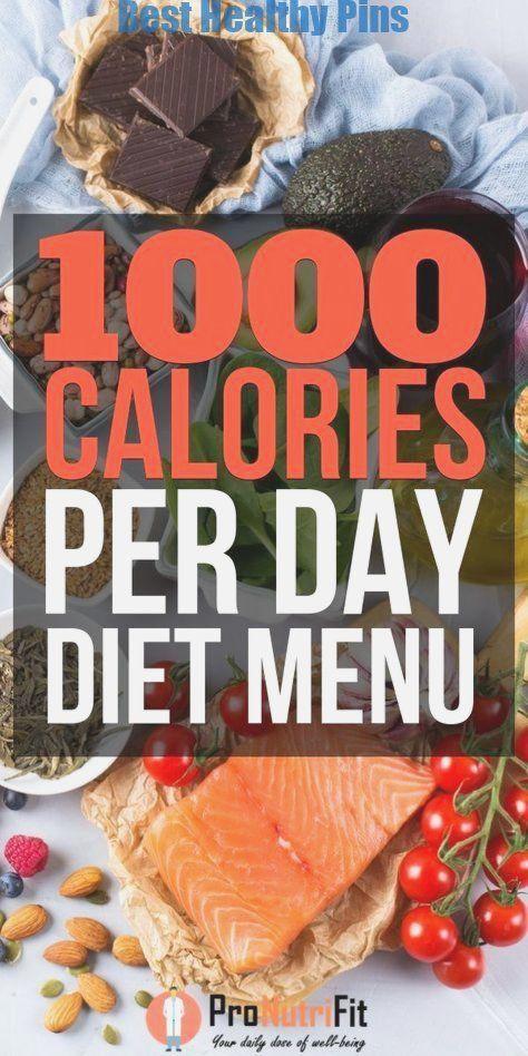 Vegetarische Ernährung 1000 Kalorien täglich